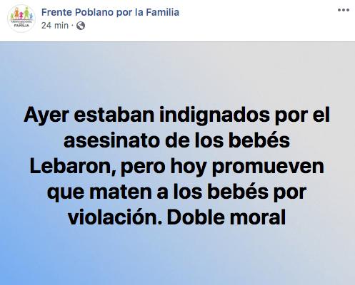 6/11/19violación-frente-familia-Puebla/ comunicado