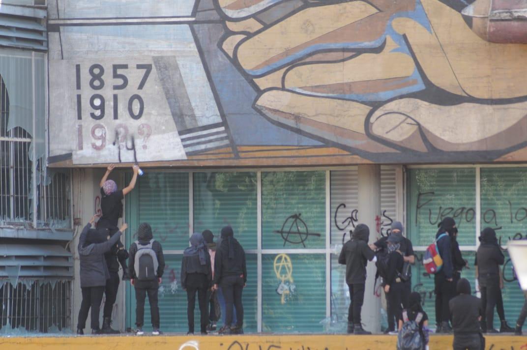 14/11/19, UNAM, Marcha, Contra, Acoso