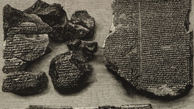Tablilla babilonica que es la primera fake news