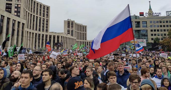 Protestas en Moscú, Rusia