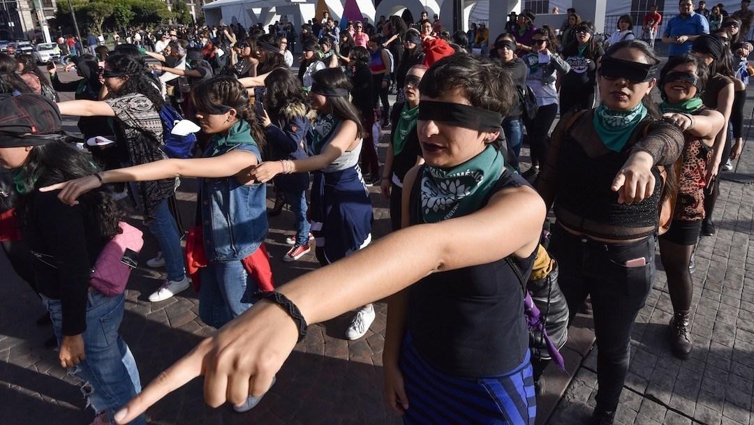 La representación de Un Violador En Tu Camino en la CDMX
