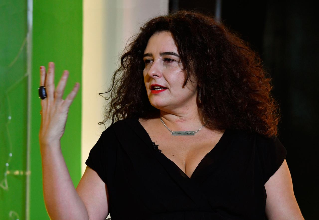 Irantzu Varela, una feminista destacada de la década.
