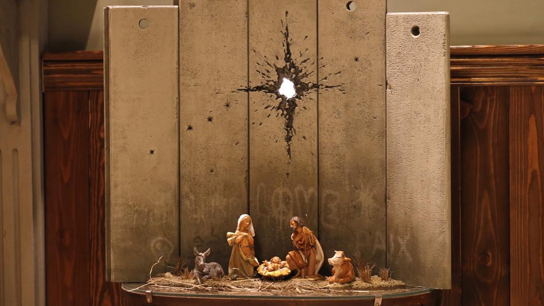 Banksy y La Cicatriz De Belén en Cisjordania