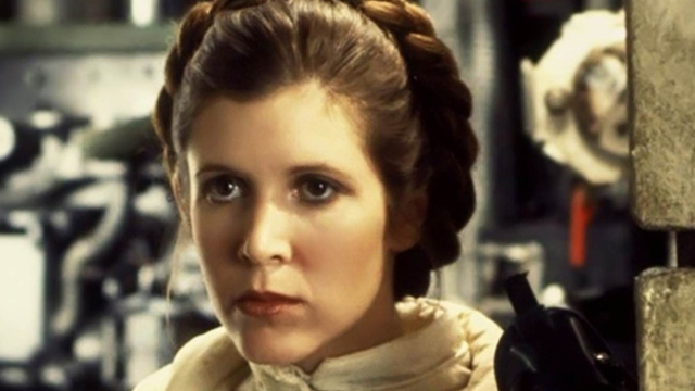 Carrie FIsher Princesa Leia Star Wars 1
