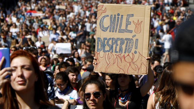 Chile Protestas K Pop