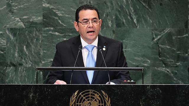 Jimmy Morales Fundamentalismo Guatemala