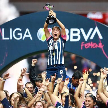 Rayadas Ganadoras De Liga MX Femenil Y De Un IPad