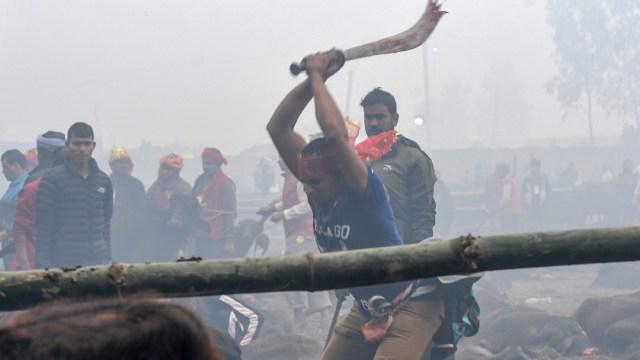 Masacre Animales En Nepal