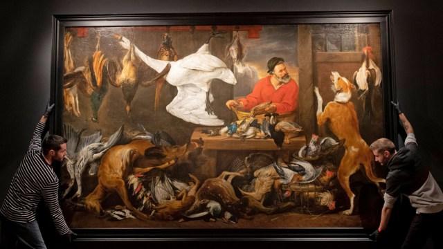 Pintura Retirada Comedor Cambridge Por Quejas Veganos