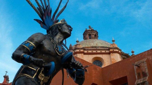 Testigos de Jehovadestruyeron un templo antiguo en México, aparentemente lo hicieron en nombre de Dios