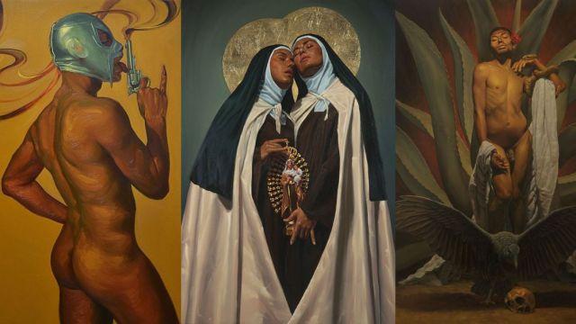 Gobierno de CDMX y familia de Zapata acuerdan dejar obra de 'zapata afeminado' en Bellas Artes.