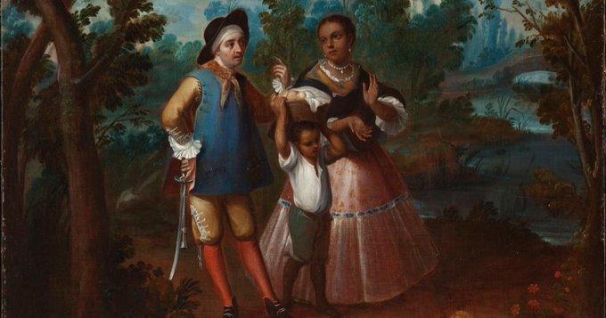 Pintura de castas de la Nueva España