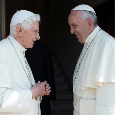 Benedicto XVI Papa Francisco
