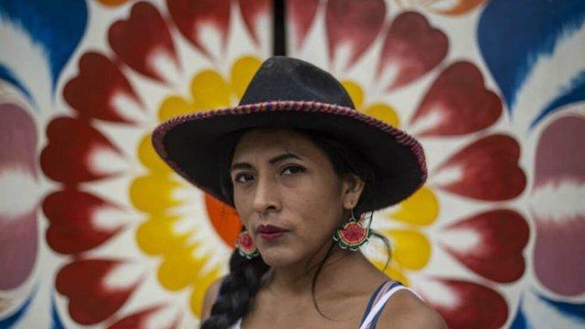 En el Congreso Peruano se presenta la primera candidata mujer trans e indígena