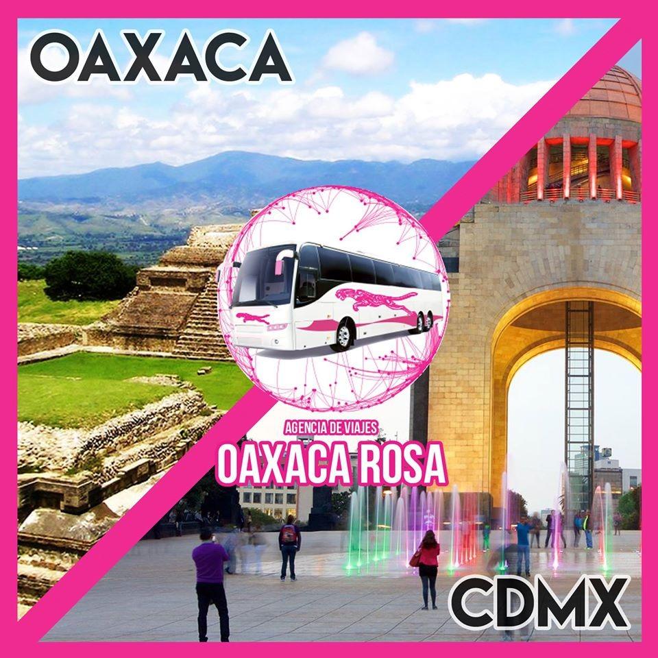 Ruta de donde de Turismo donde pasa la pirateria de CDMX a Oaxaca