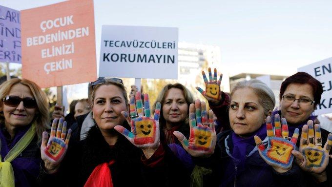 En Turquía un proyecto de ley podría indultar a violadores