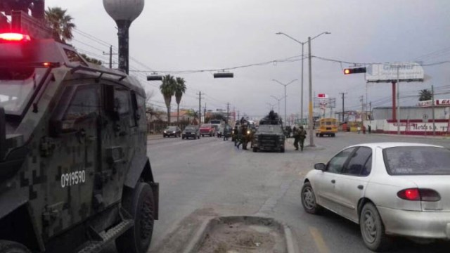 Balaceras En Nuevo Laredo Atacan Durante Tres Días