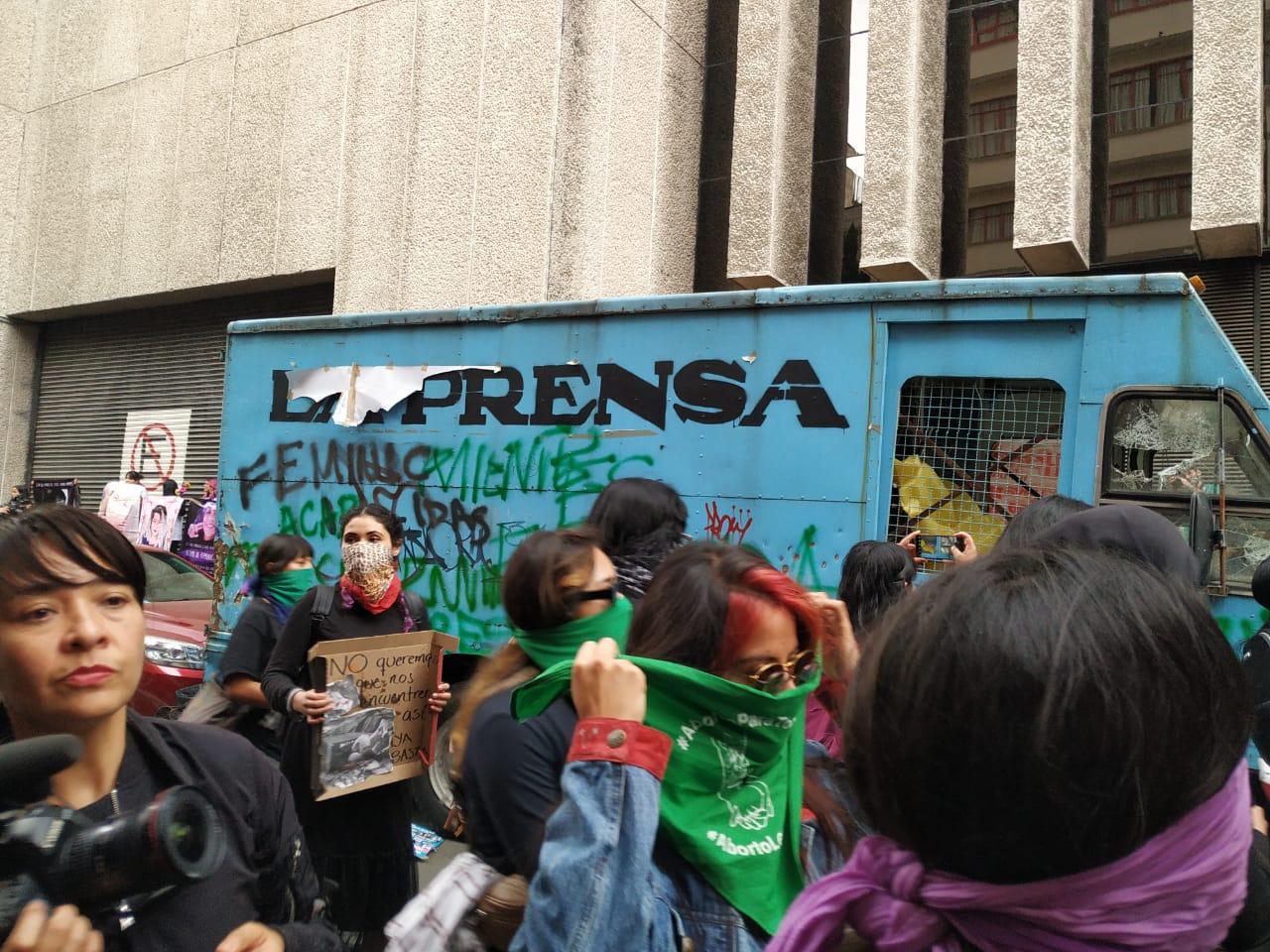 Marcha, Feminista, 14 Febrero, Ingrid Escamilla