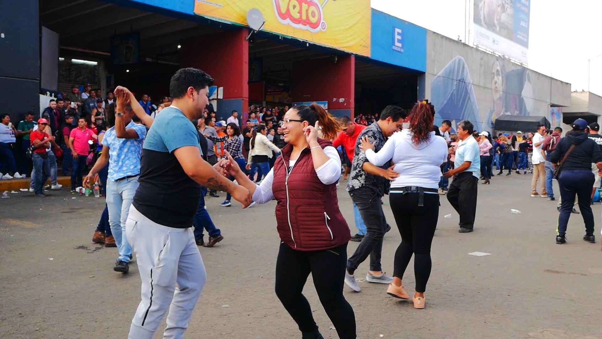 Cumbia, Mexico, Sonidero, Historia