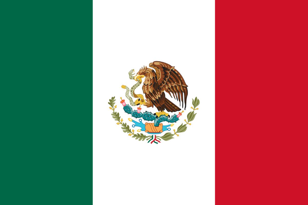 Día Bandera, Mexico, 24 Febrero, Historia