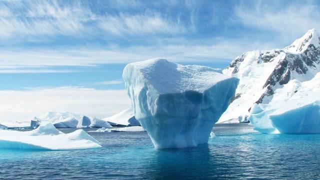 Iceberg, Antártica, Océano, Cambio Climático