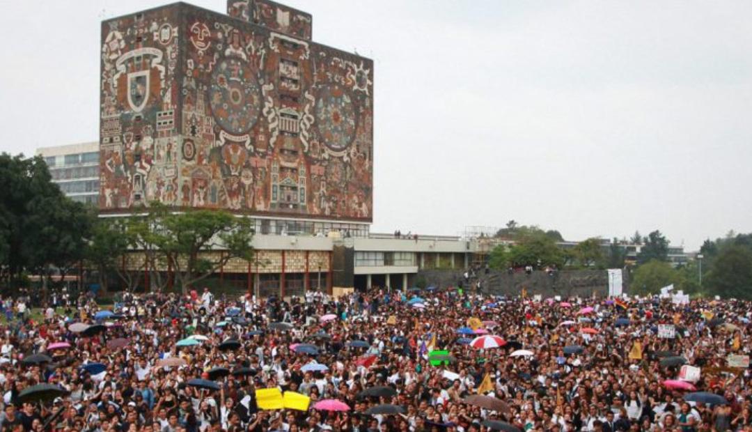 Morena propone voto universal para elegir autoridades de la UNAM.