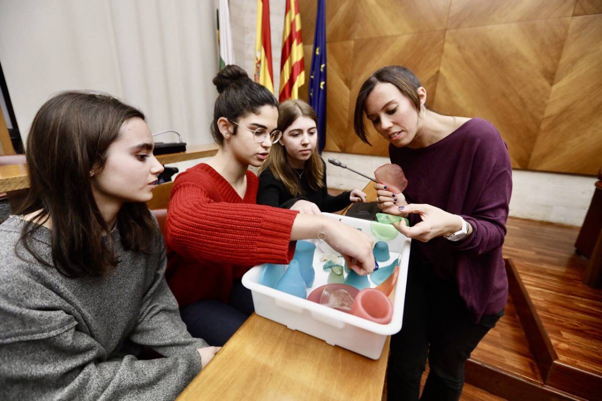 Plástico, Biodegradable, Alumnas, Barato