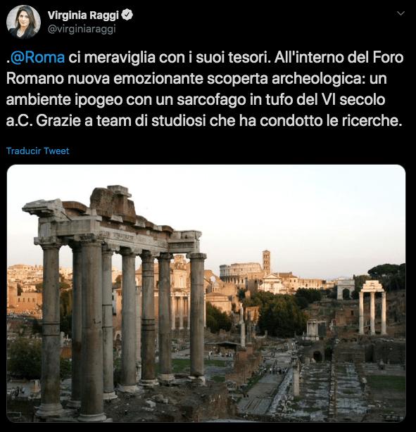 Rómulo, Tumba, Centro, Roma