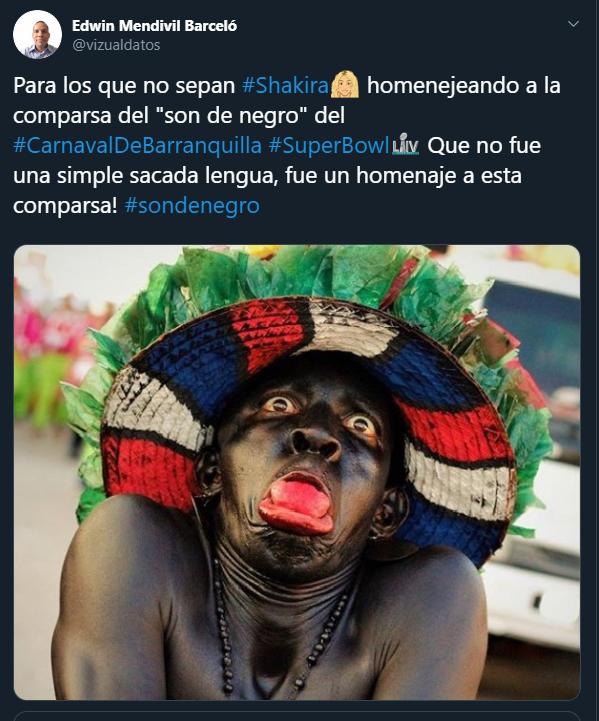Shakira Son de Negro