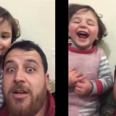 Siria, Papá, Hija, Bombardeos