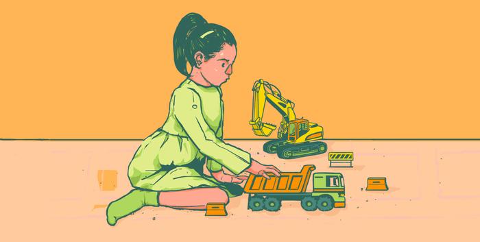 Por esto es importante hablar de crianza sin género (Imagen: Plumas Atómicas/Pepe)