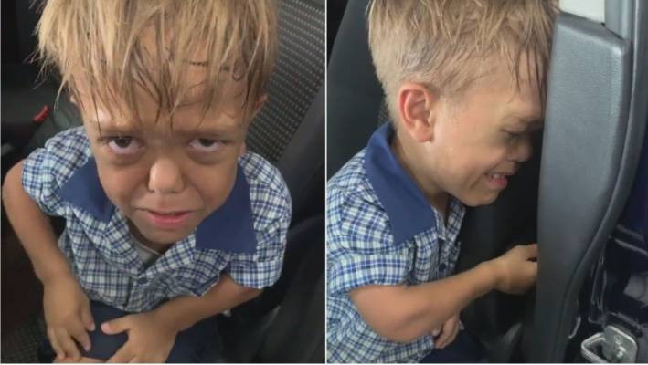 Niño con enanismo que sufre bullying pide soga para suicidarse