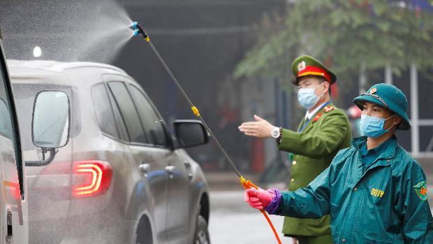 Vietnam, primer cuarentena masiva fuera de China por coronavirus