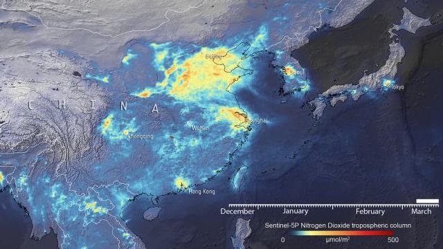 Contaminación, Coronavirus, Aire, Industria