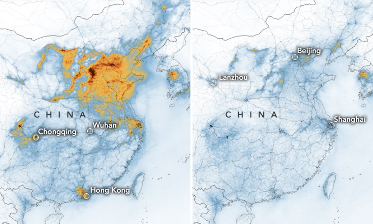 Coronavirus, Dióxido Nitrógeno, Contaminación, China