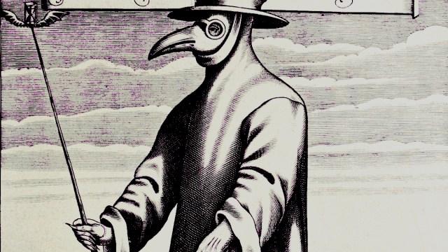 Cuarentena, Origen, Peste Negra, Significado