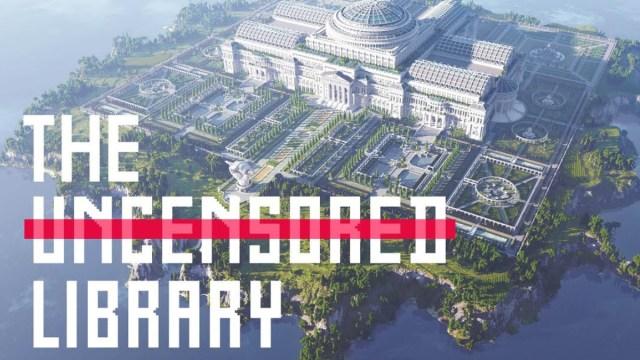 Minecraft, Reporteros Sin Fronteras, Biblioteca, Virtual