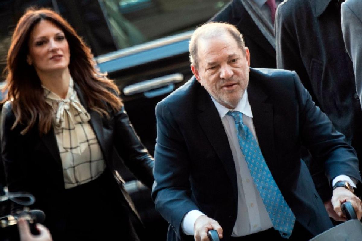 Harvey Weinstein fue condenado a 23 años de prisión (Imagen: CNNEspanol)
