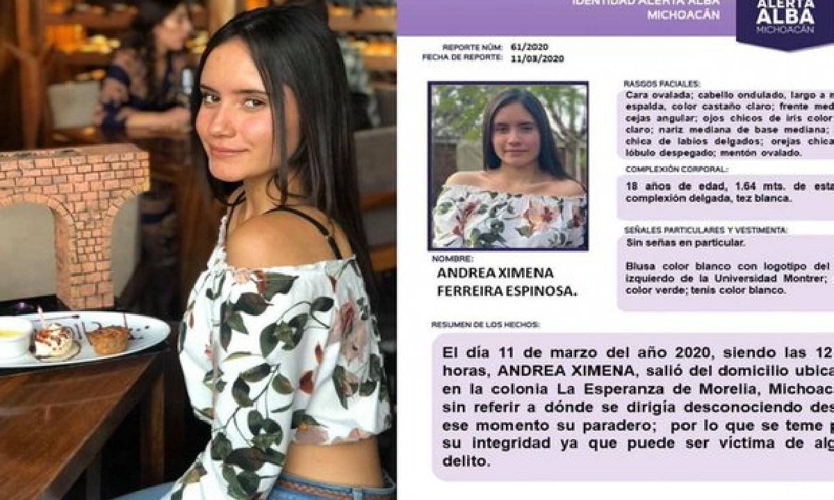Ximena, Desaparecida, Michoacan, Feminicidios