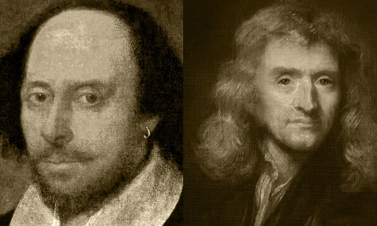 Newton, Shakespeare, Cuarentena, Coronavirus