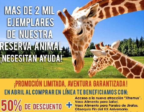 Bioparque Estrella, Lanzo Campana, Sustentar, Alimentacion
