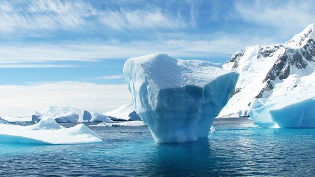 Antártida, Microplásticos, Hielo, 2020