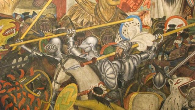 Conquistadores, Españoles, Indígenas, Armas