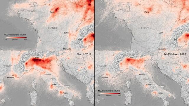 Coronavirus, Contaminación, Europa, Italia