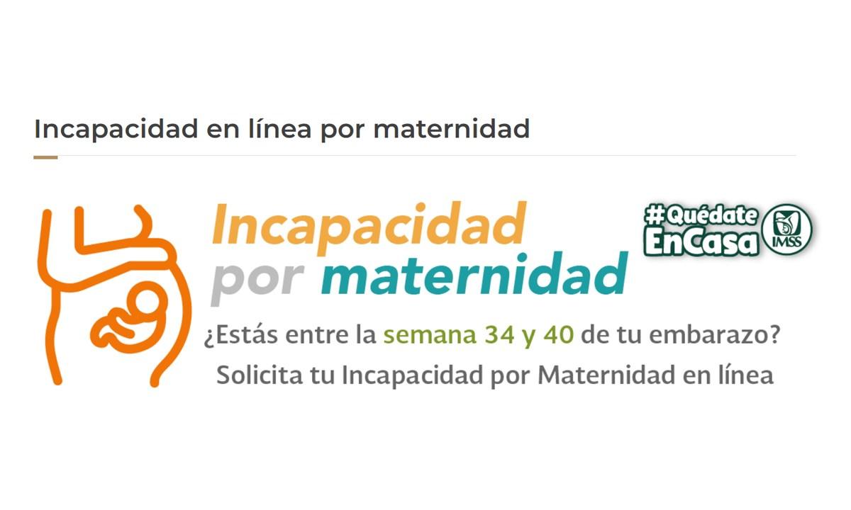 IMSS, Incapacidad, Maternidad, En Linea