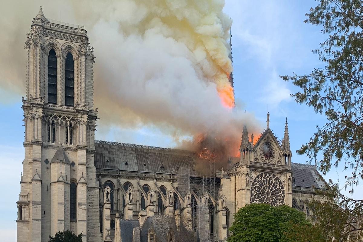 Notre Dame, Incendio, Catedral, Paris