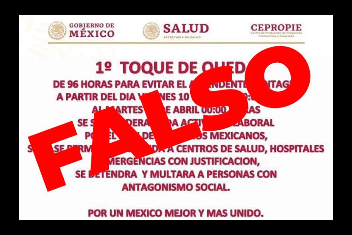Toque Queda, Mexico, CDMX, Coronavirus