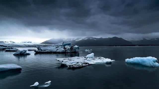 Iceberg, Fragmento, Medio Ambiente, Bloque de Hielo