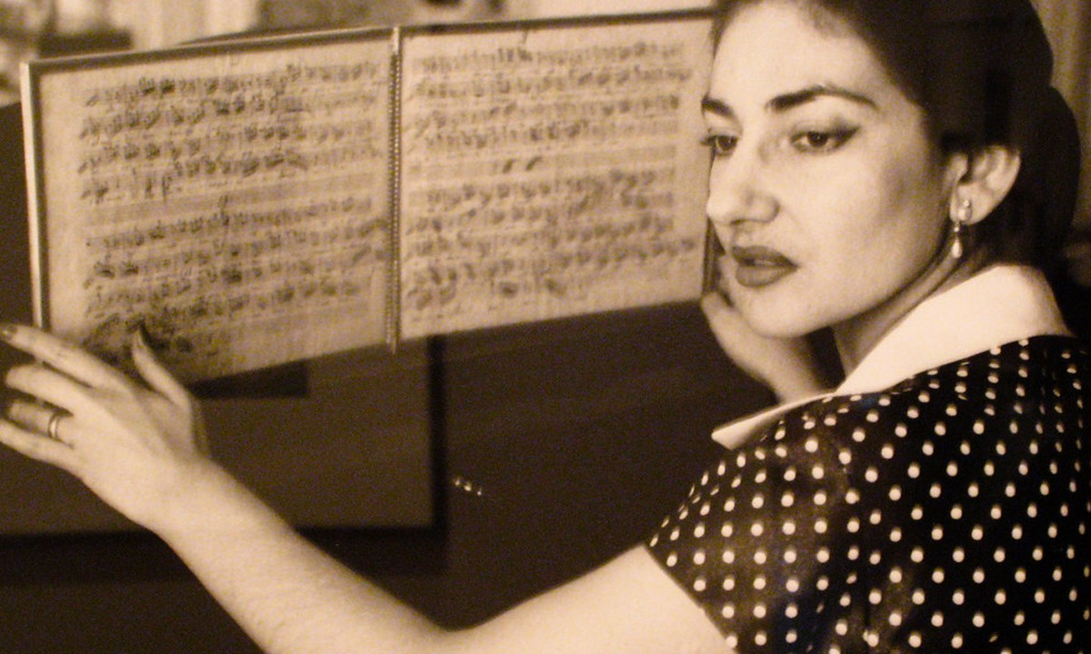 Maria Callas, Opera, Arias, Biografía