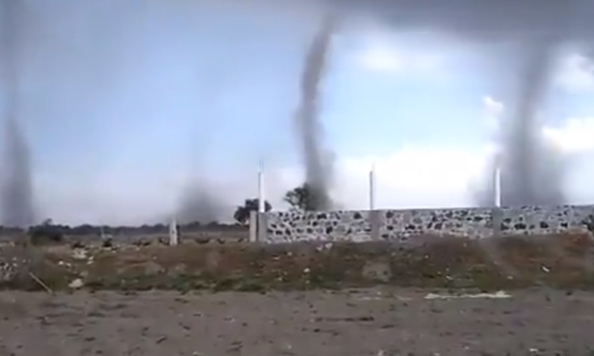 Tornados, Puebla, Video, 2020